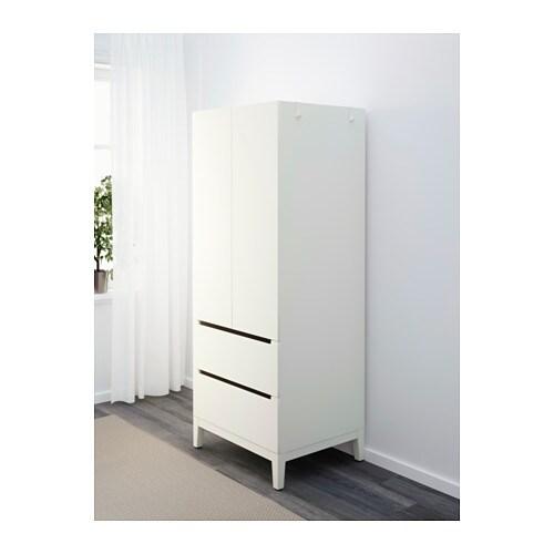 nordli wardrobe white 72x58x181 cm ikea. Black Bedroom Furniture Sets. Home Design Ideas