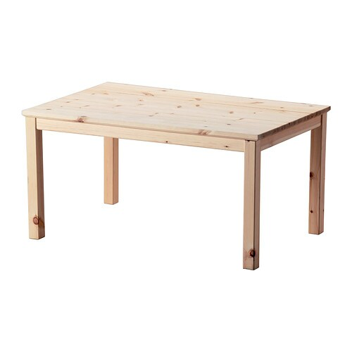 Norn s coffee table pine 89x59 cm ikea Ikea coffee tables and end tables