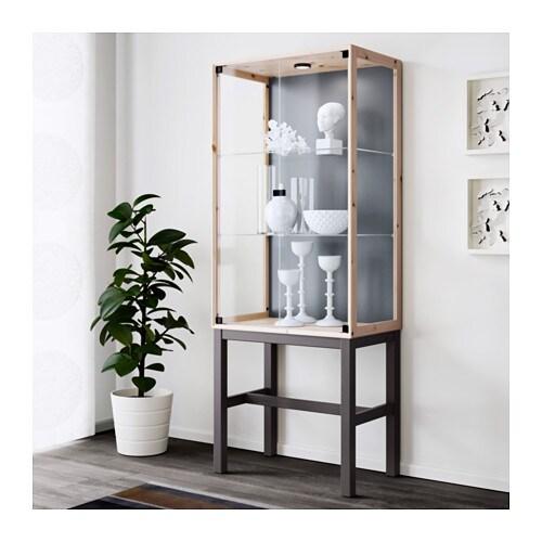 Ikea Pax Schrank Gebraucht Kaufen ~ IKEA NORNÄS glass door cabinet with 2 doors Optimise your storage