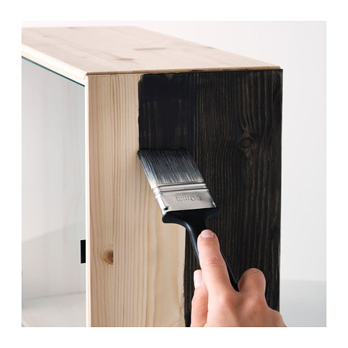 Ikea Pax Schrank Gebraucht Kaufen ~ NORNÄS Glass door wall cabinet Pine 70×70 cm  IKEA