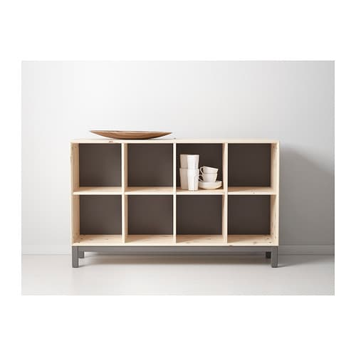 Norn s sideboard basic unit pine grey ikea - Meuble buffet ikea ...