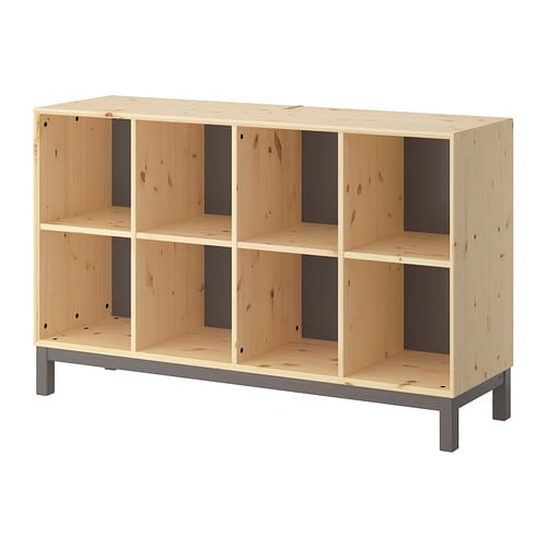 NORNÄS Sideboard basic unit IKEA Untreated solid pine is a durable natural material that can be painted, oiled or stained according to preference.