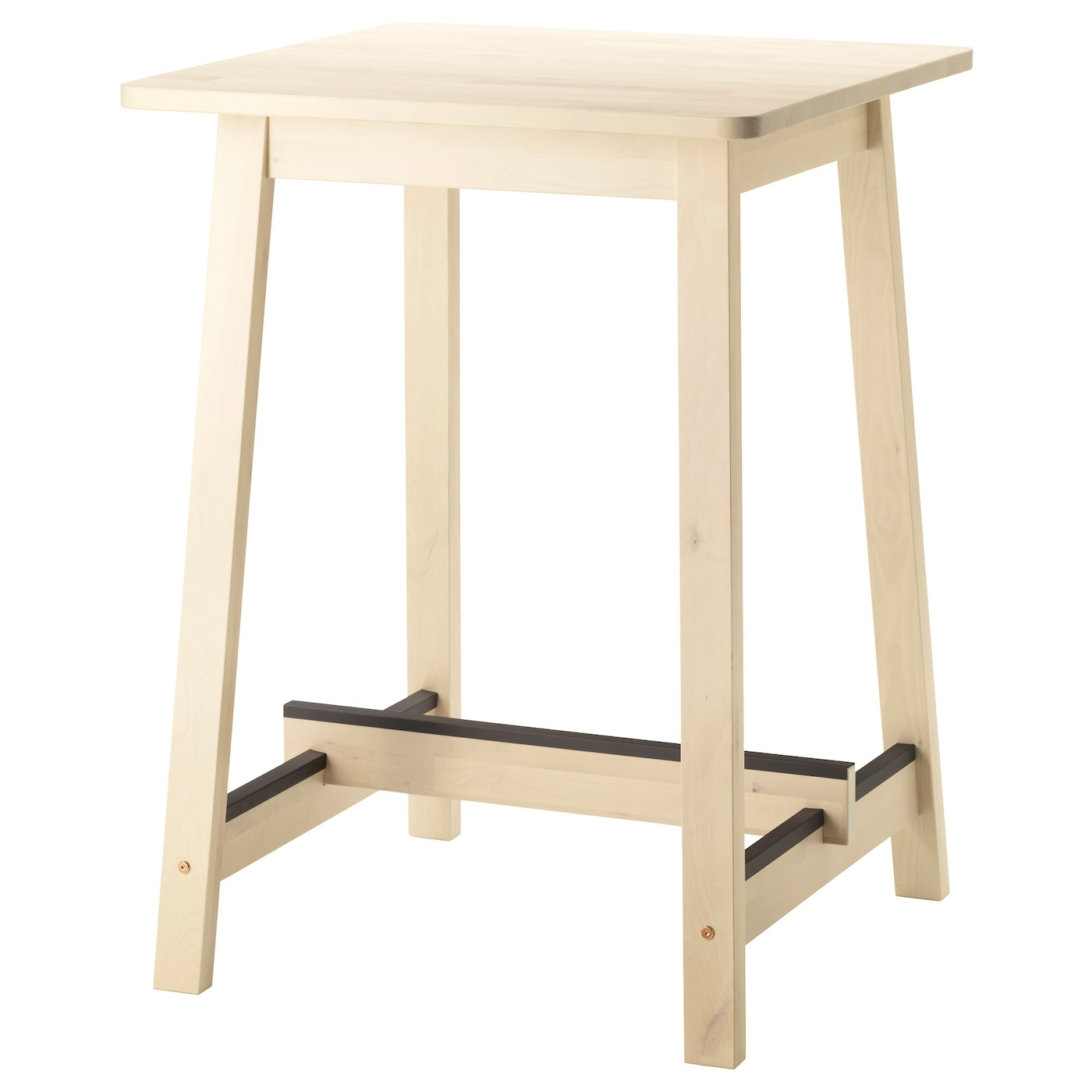 White Table Uk Part - 36: IKEA NORRÅKER Bar Table Less Risk Of Children Hitting Their Head As The  Table Has Rounded
