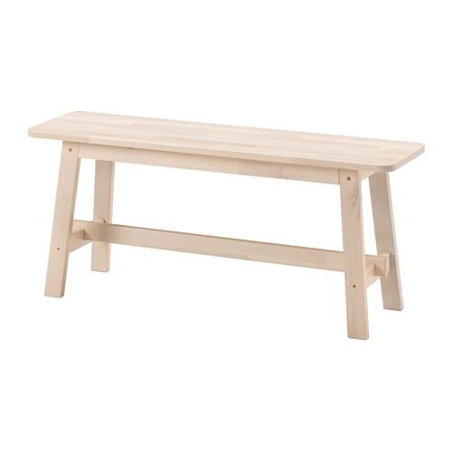 norr ker bench white birch 103 cm ikea. Black Bedroom Furniture Sets. Home Design Ideas