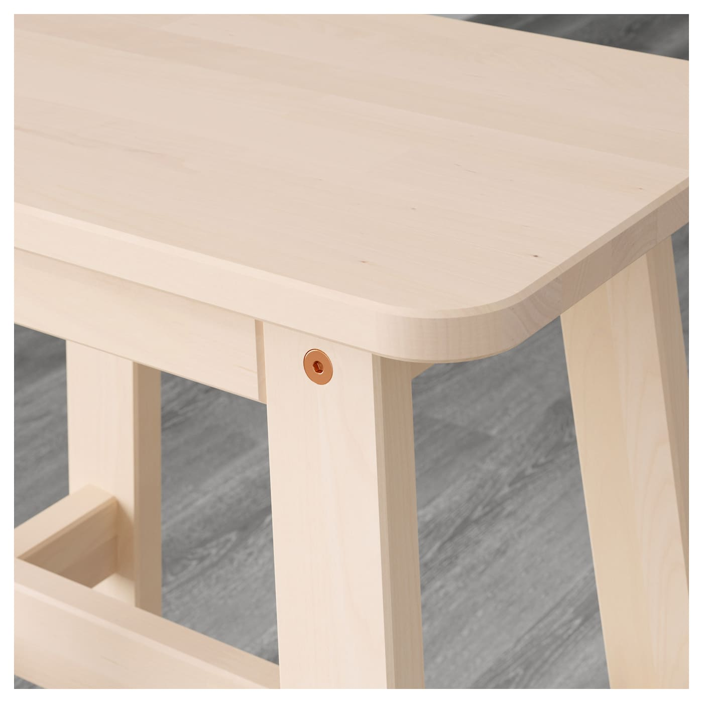 Ikea norråker bench durable and hard wearing meets the requirements on furniture for public