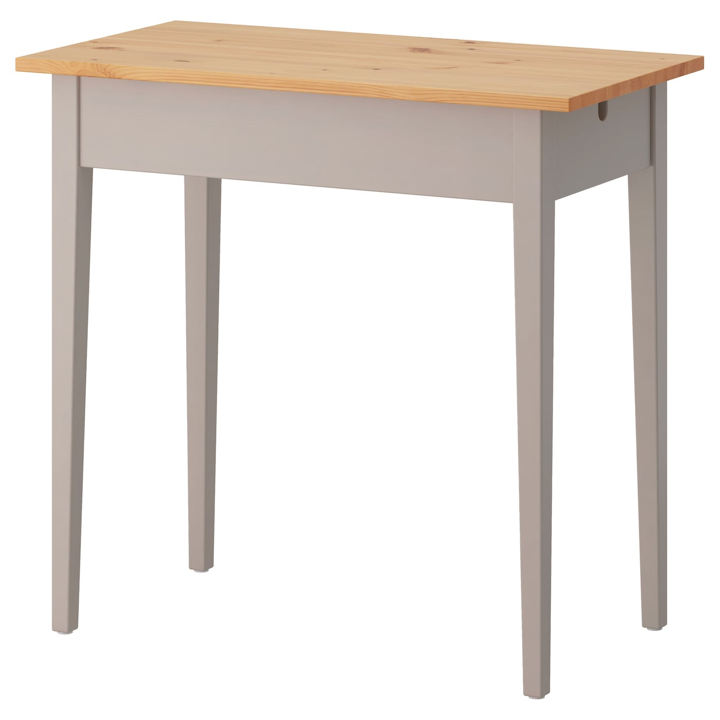 IKEA NORRÅSEN laptop table Solid wood is a durable natural material.