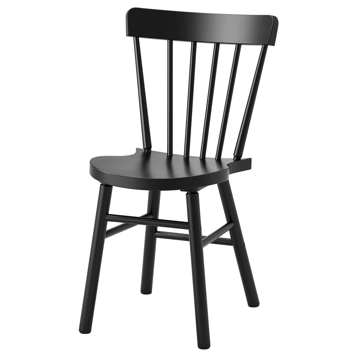Norraryd chair black ikea for Chaise noire ikea