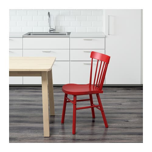 NORRARYD Chair Red IKEA