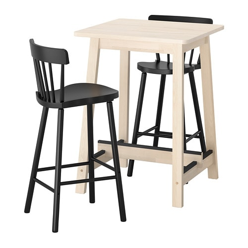 Ikea Norraryd NorrÅker Bar Table And 2 Stools