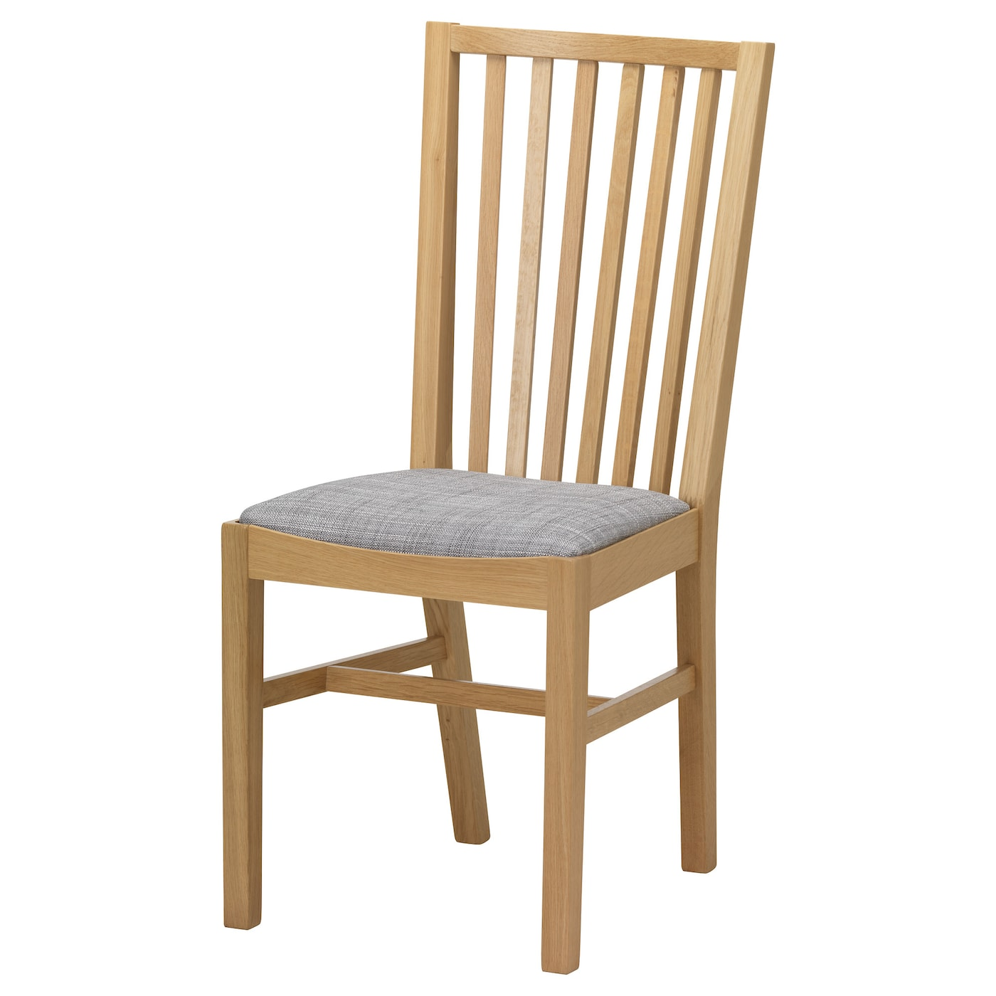 "NORRN""S Chair Oak isunda grey IKEA"