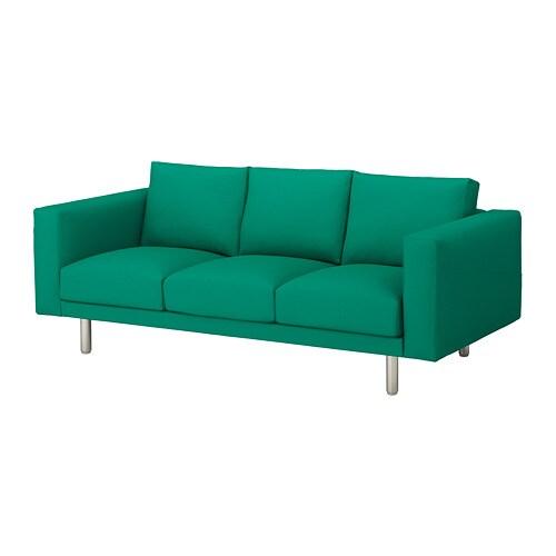 metal outdoor sofa norsborg 3 seat sofa grsbo bright greenmetal ikea