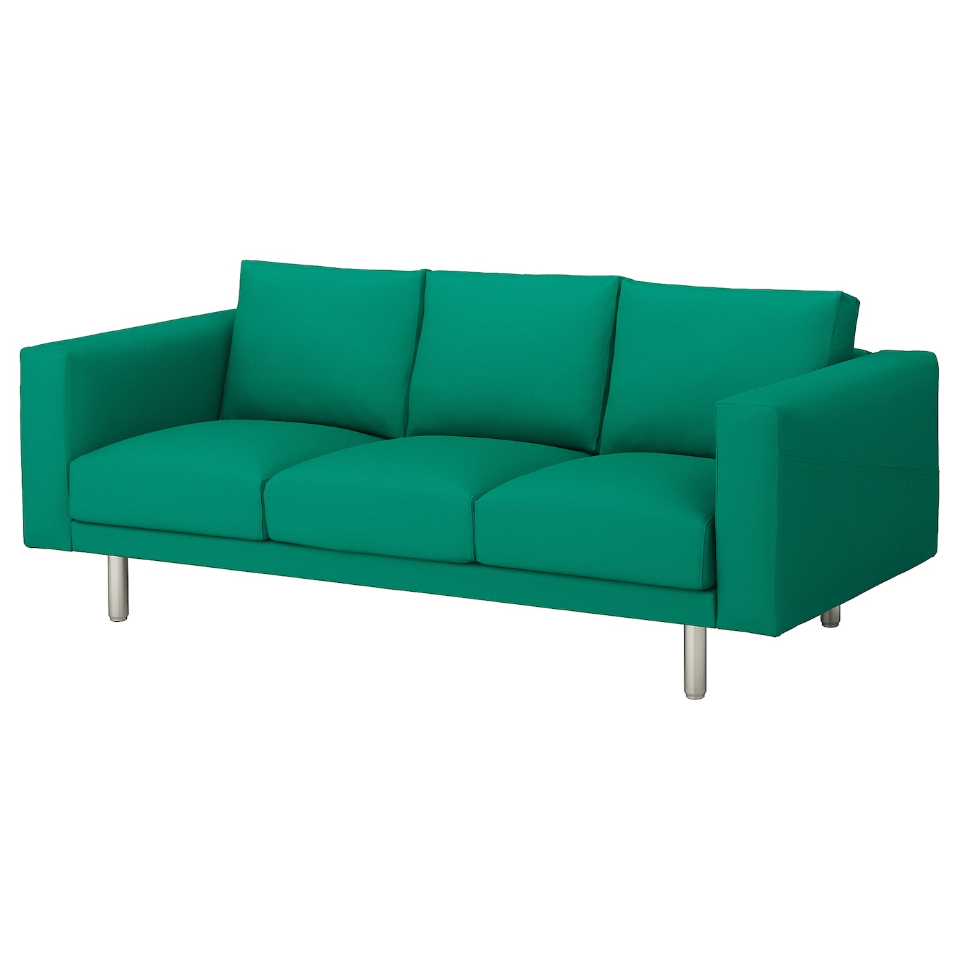 IKEA NORSBORG 3-seat sofa 10 year guarantee. Read about the terms in the guarantee brochure.