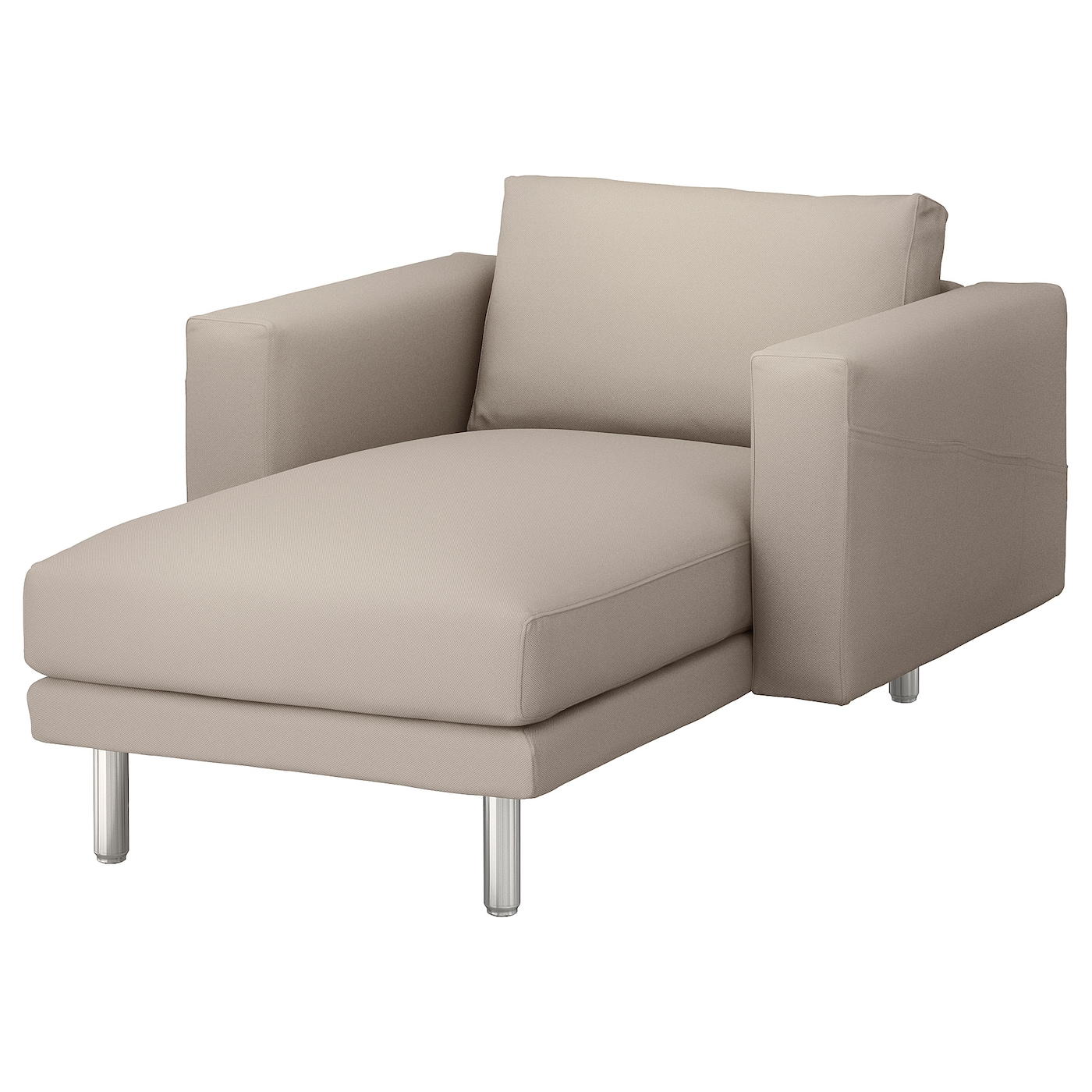 Ikea sofa with chaise kivik 3 seat sofa with chaise longue for Chaise longue jardin ikea