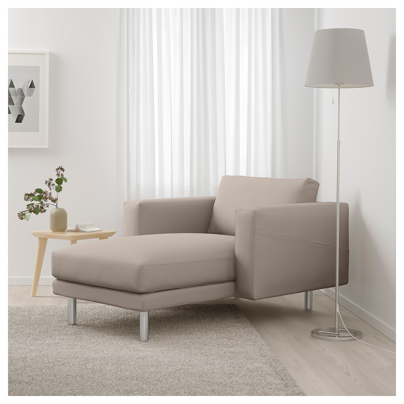 norsborg chaise longue gr sbo beige metal ikea. Black Bedroom Furniture Sets. Home Design Ideas