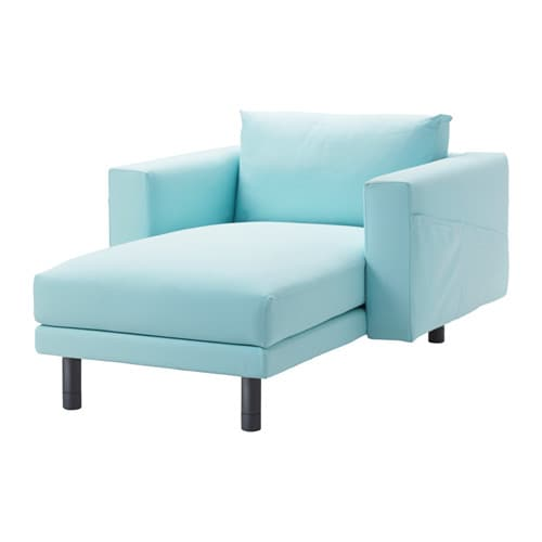 Norsborg chaise longue gr sbo light blue grey ikea - Chaise longue jardin ikea ...