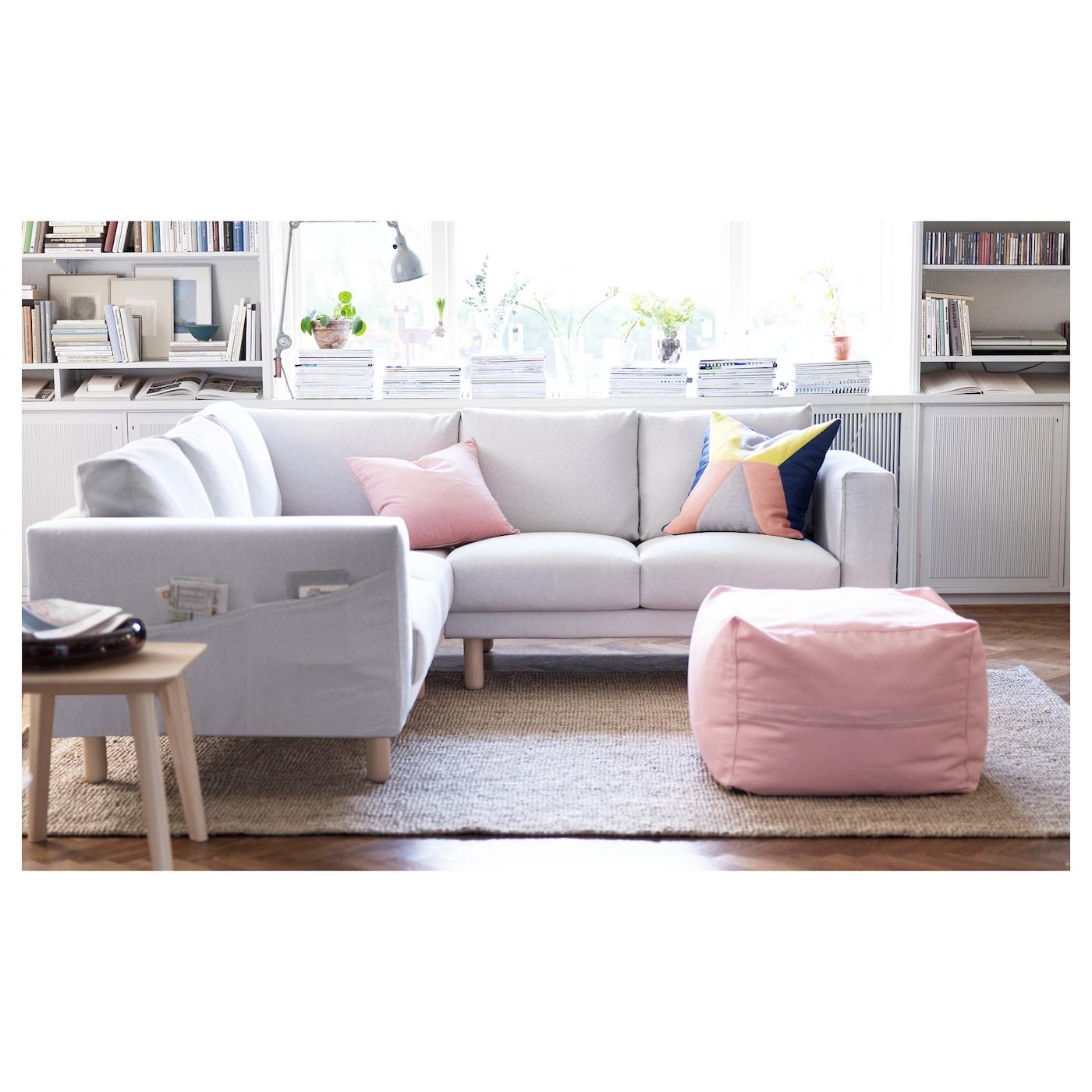 NORSBORG Corner sofa 2 2 Finnsta white birch IKEA