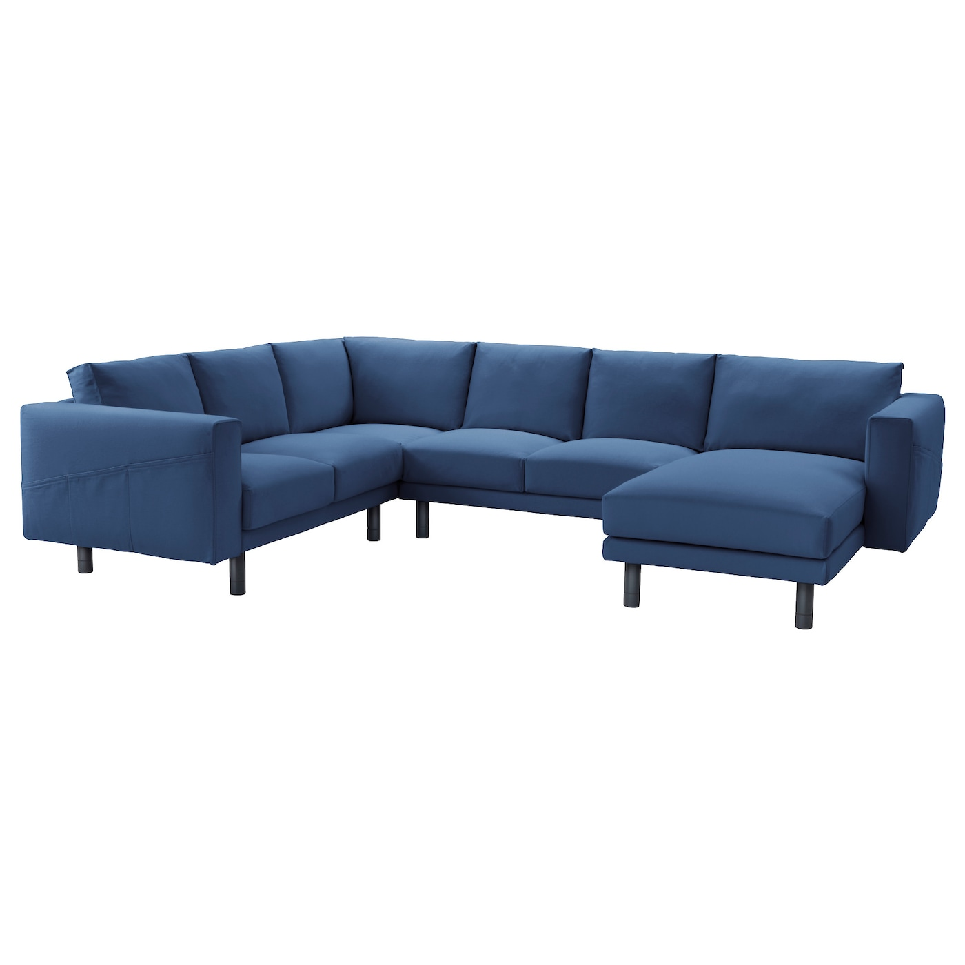 Norsborg corner sofa 2 2 with chaise longue gr sbo dark for Sofas chaise longue baratos modernos