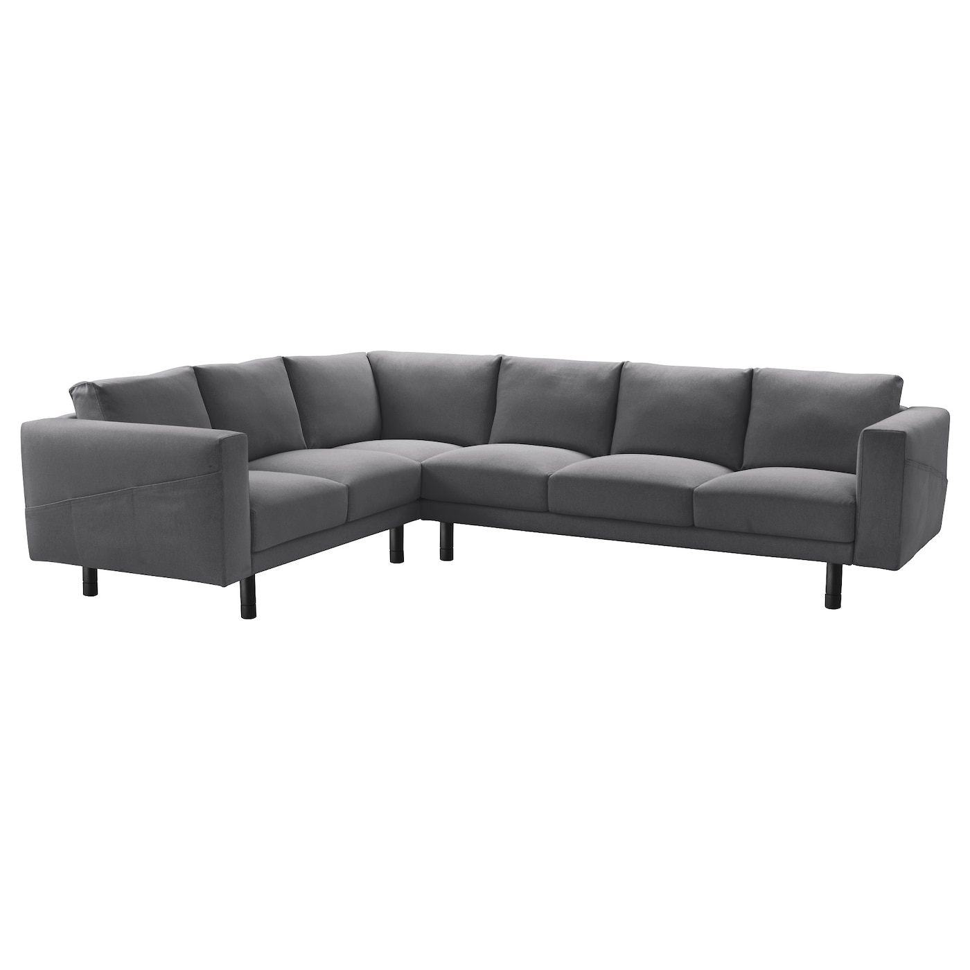 Norsborg Corner Sofa 2 3 3 2 Finnsta Dark Grey Grey Ikea