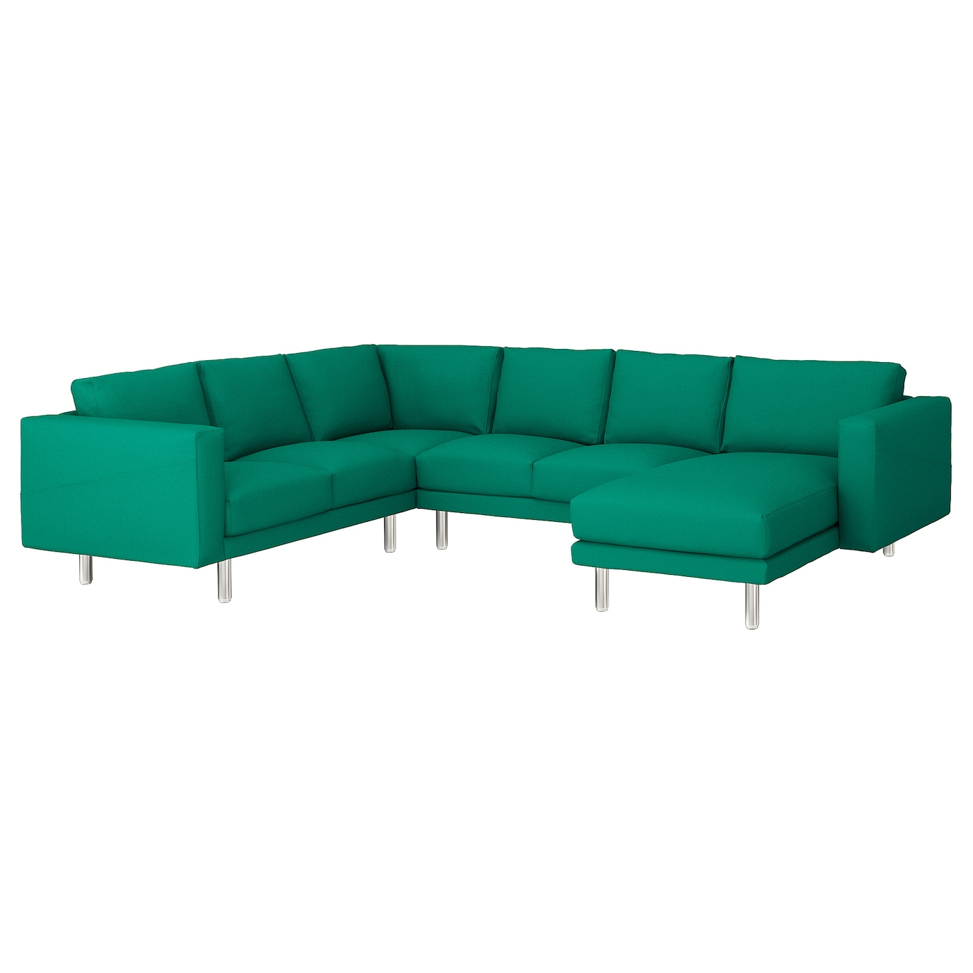 Norsborg corner sofa 5 seat with chaise longue gr sbo for Chaise longue en aluminium