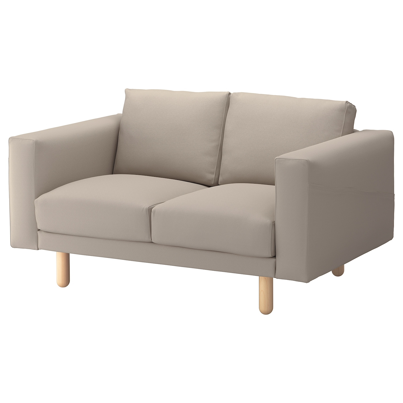 norsborg cover for 2 seat sofa gr sbo beige ikea. Black Bedroom Furniture Sets. Home Design Ideas