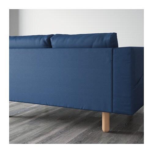 norsborg three seat sofa gr sbo dark blue birch ikea. Black Bedroom Furniture Sets. Home Design Ideas