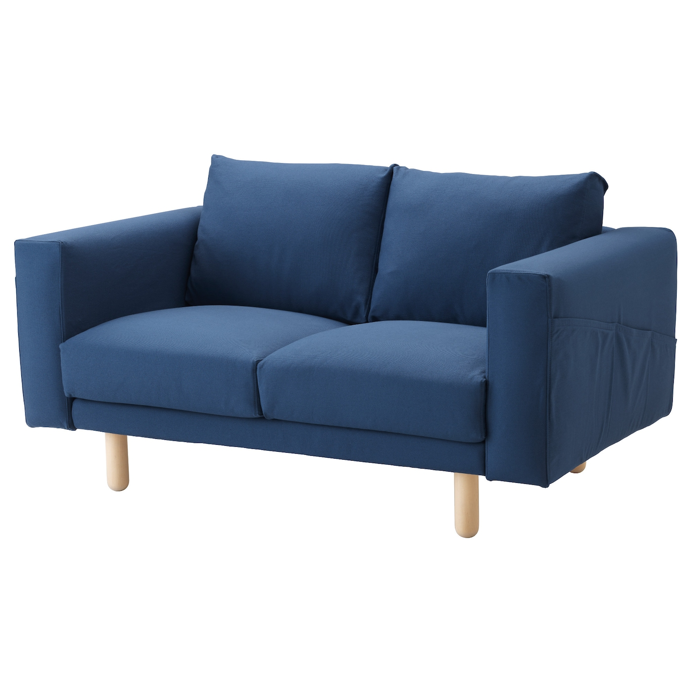 norsborg two seat sofa gr sbo dark blue birch ikea. Black Bedroom Furniture Sets. Home Design Ideas