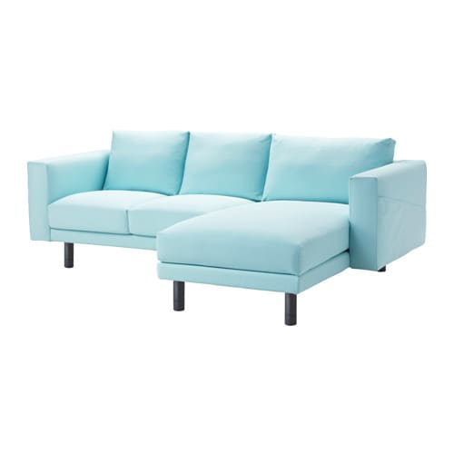 Norsborg two seat sofa with chaise longue gr sbo light for 4 seat sofa with chaise
