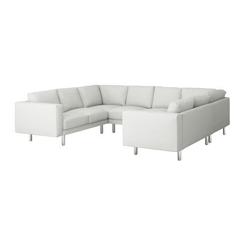 Attrayant IKEA NORSBORG U Shaped Sofa, 6 Seat