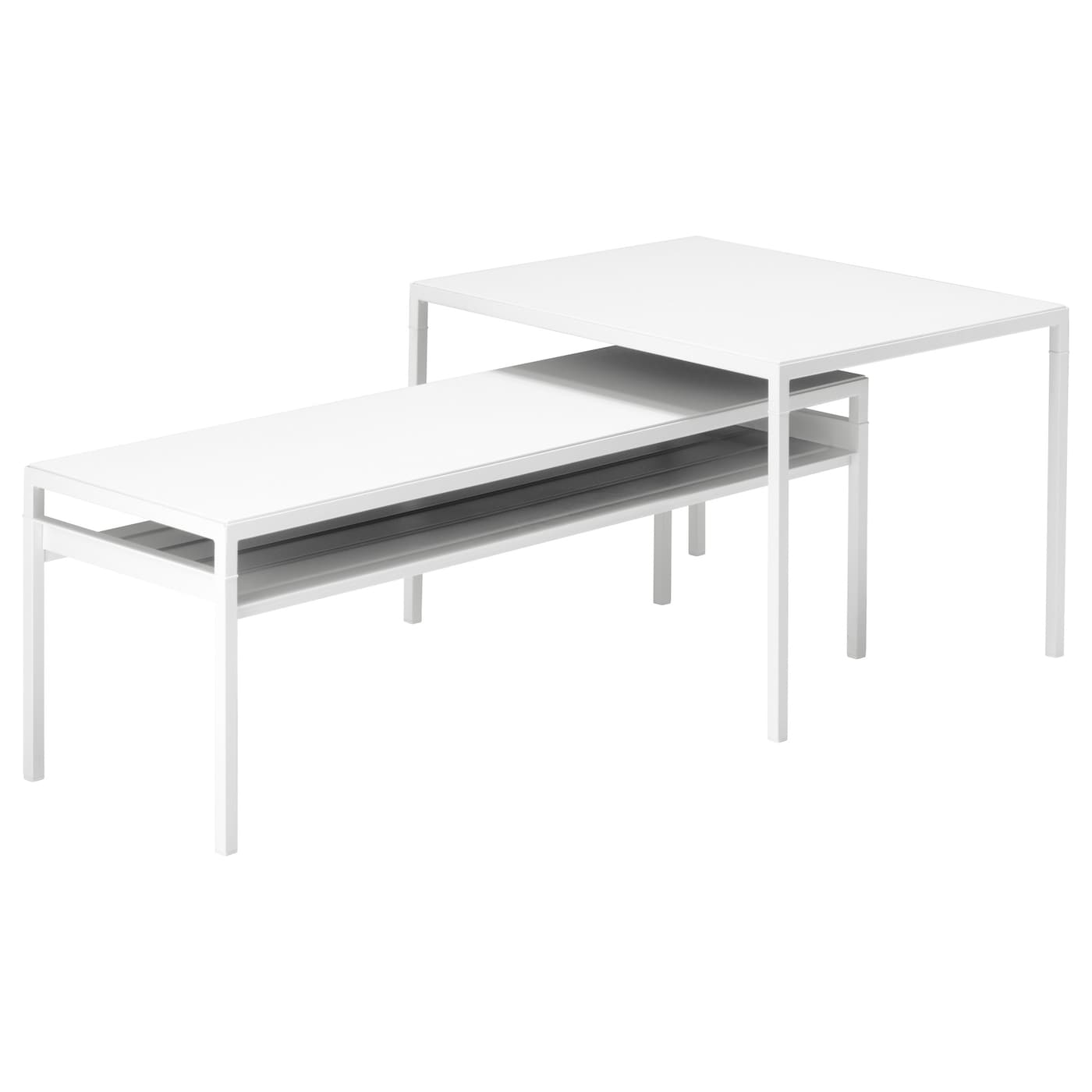 IKEA NYBODA nest of tables with reversible tops