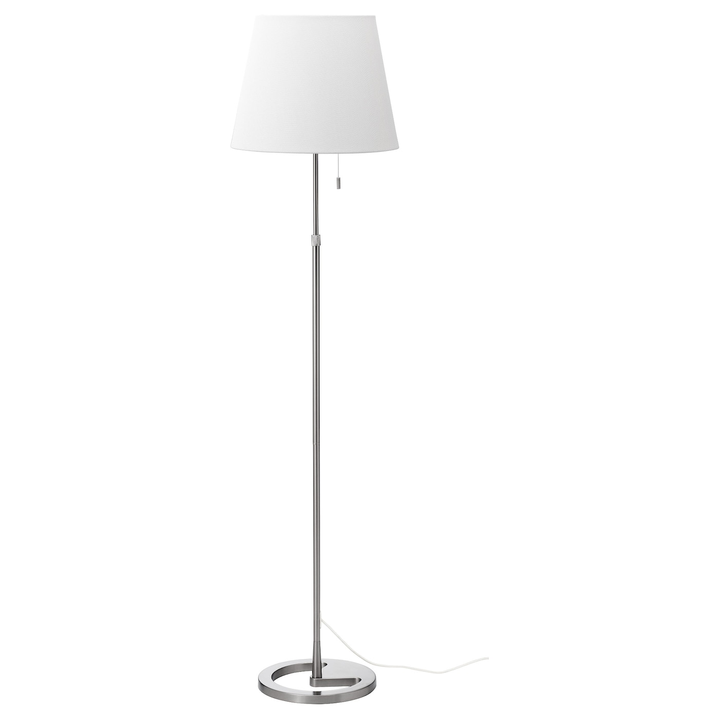 Ikea Alang Floor Lamp White ~ IKEA NYFORS floor lamp The height is adjustable to suit your lighting