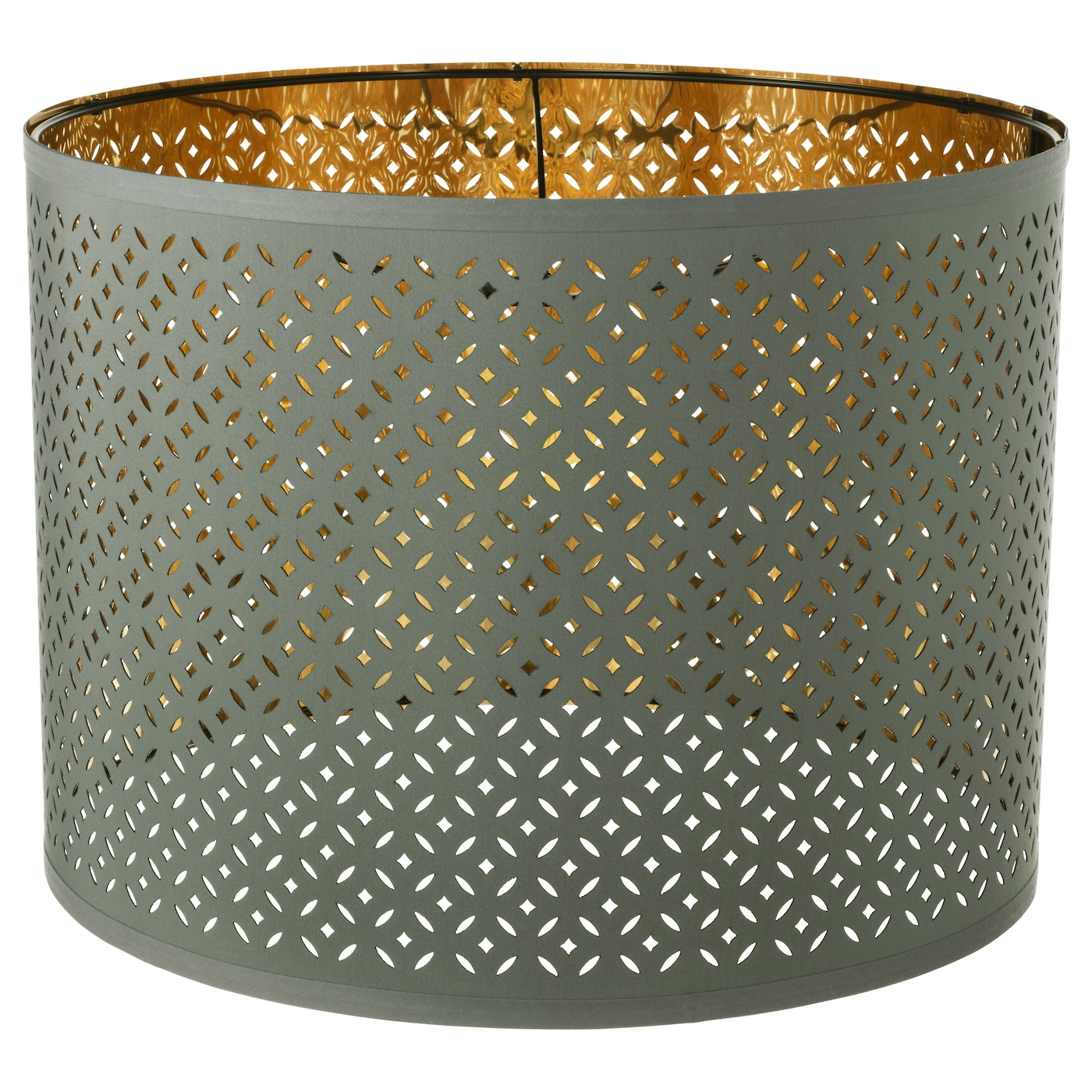 nym lamp shade green brass colour 44 cm ikea. Black Bedroom Furniture Sets. Home Design Ideas