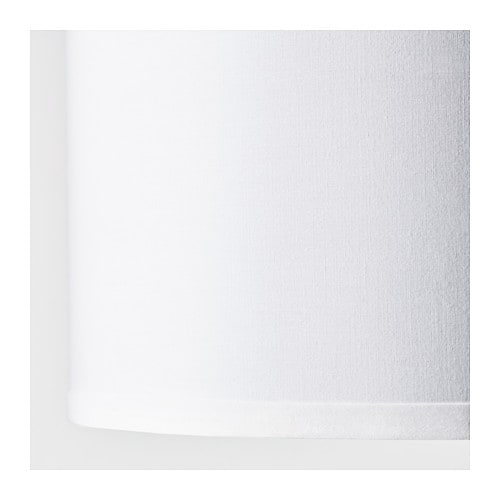 IKEA NYMÖ lamp shade Diffused light that provides good general light in the room.