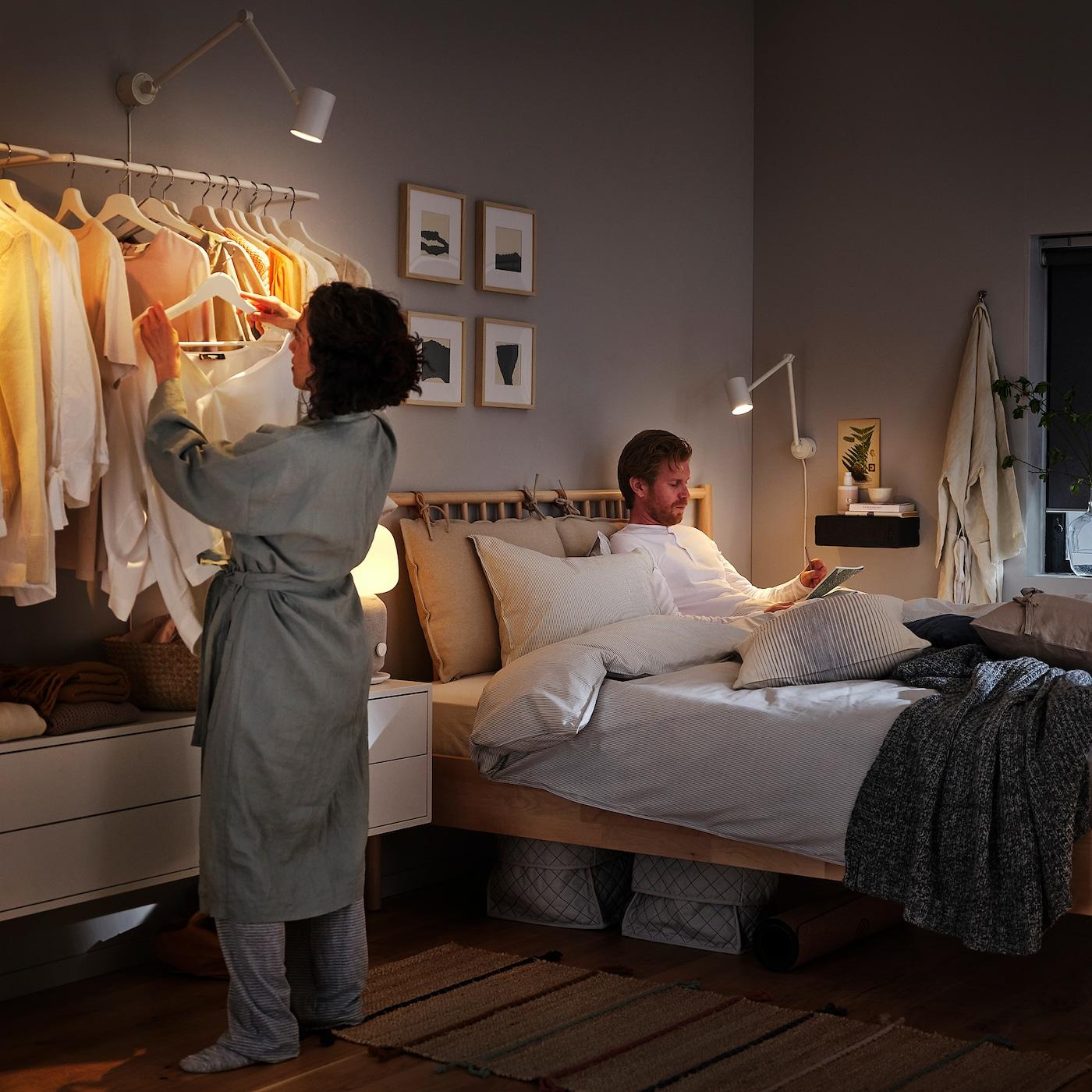 NYMÅNE Workwall lamp white | Work