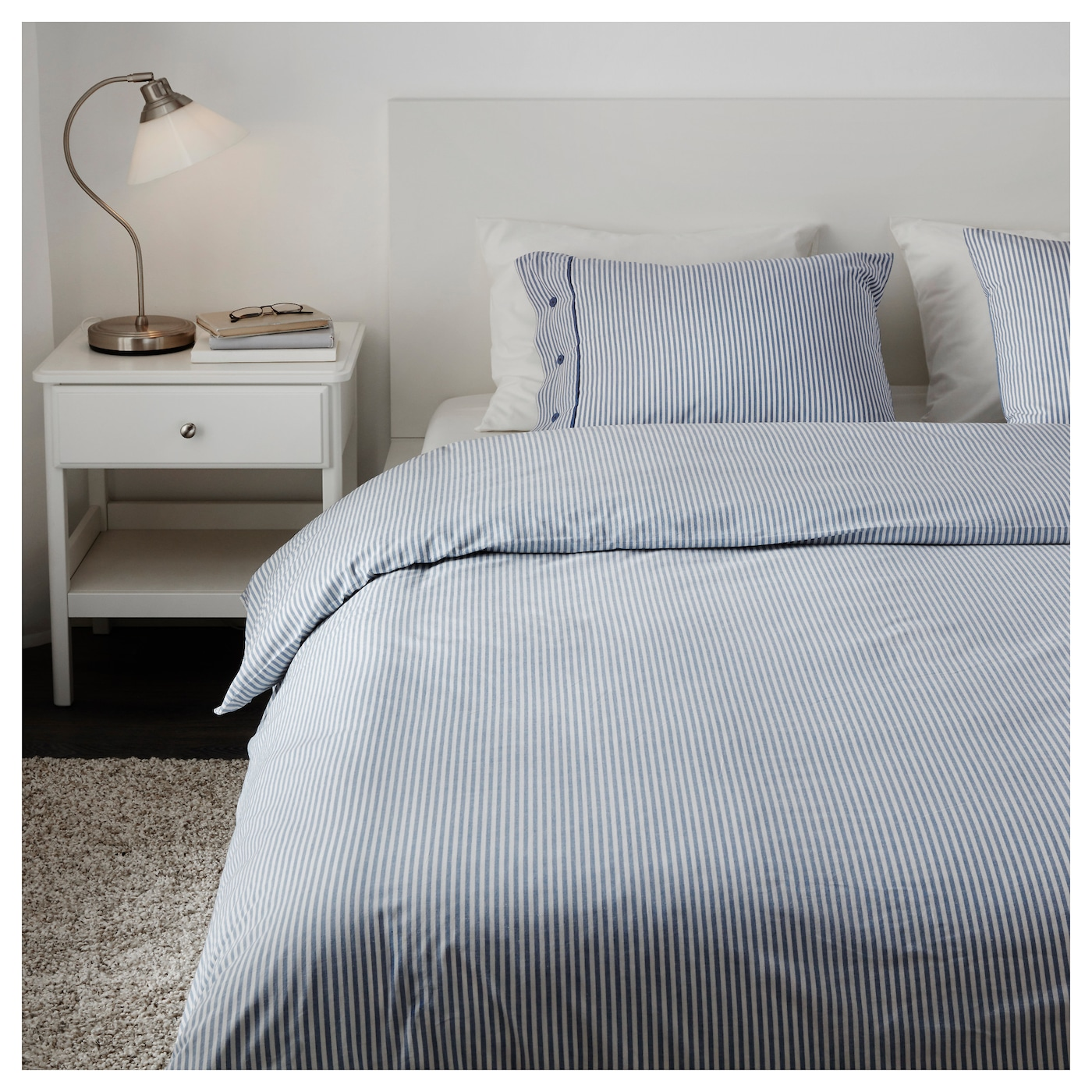 Design Ikea Bedding nyponros quilt cover and 4 pillowcases whiteblue 200x20050x80 cm ikea pillowcases