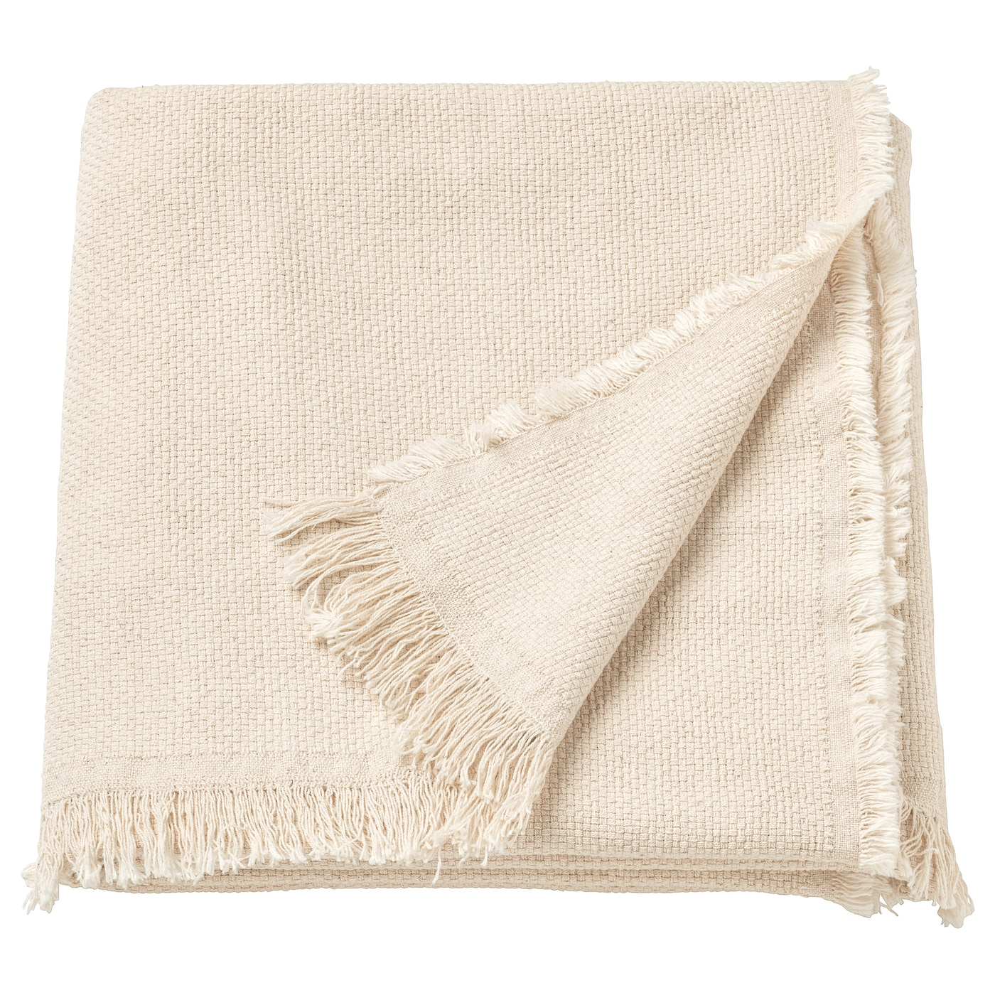 IKEA ODDRUN throw Cotton is a soft and easy-care natural material that you can machine wash.
