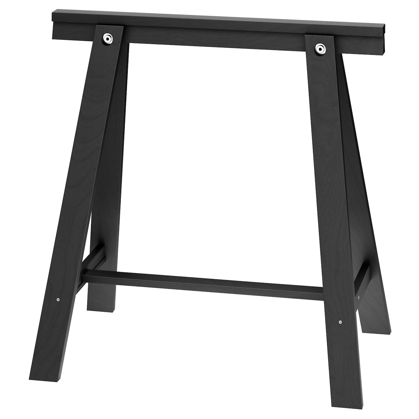 IKEA ODDVALD trestle Solid wood is a durable natural material.