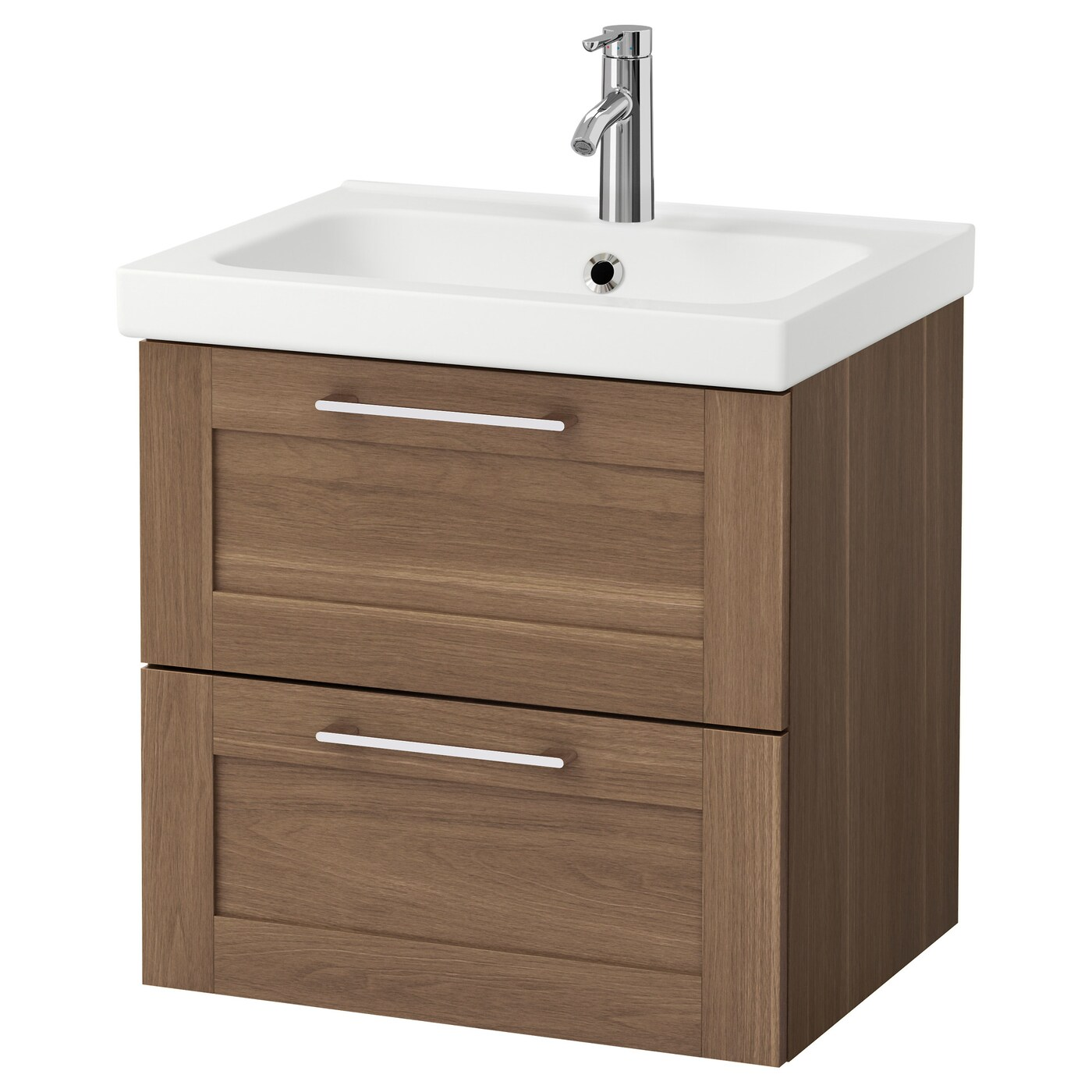Walnut bathroom furniture uk - Ikea Odensvik Godmorgon Wash Stand With 2 Drawers