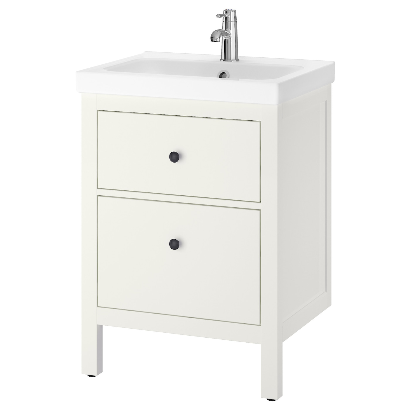 ODENSVIK HEMNES Wash stand with 2 drawers White 60x49x89 cm IKEA