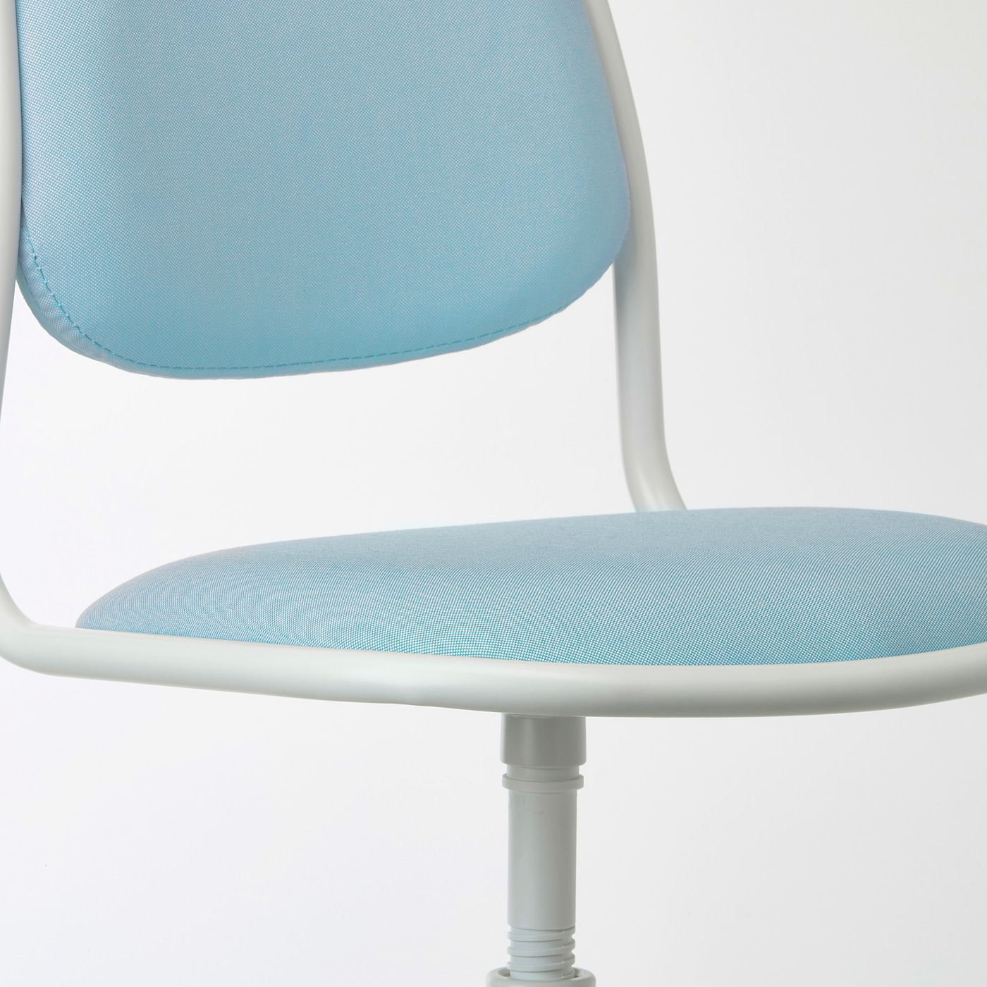 Picture of: Orfjall White Vissle Blue Green Children S Desk Chair Ikea