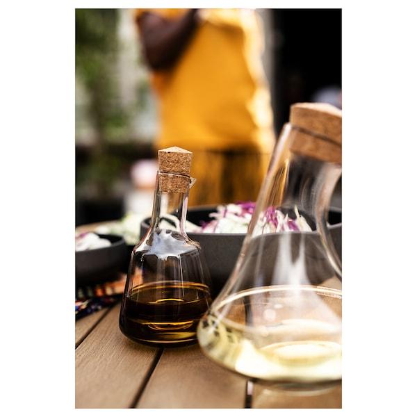 ÖVERALLT oil jug glass 17 cm 10 cm 0.4 l