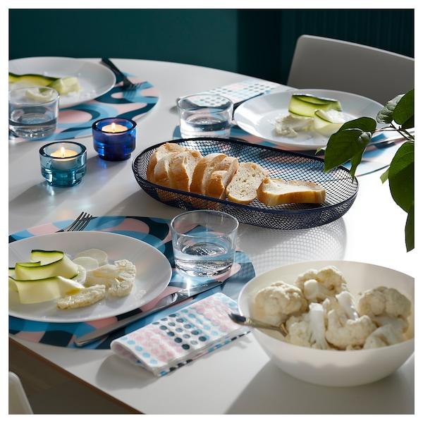 OFTAST Serving bowl, white, 23 cm