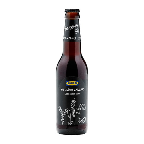 ÖL MÖRK LAGER Dark lager beer 4.7% Volume: 330 ml
