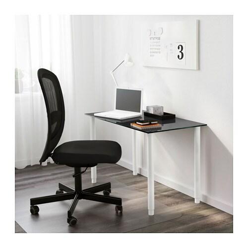 Ikea Aneboda Three Drawer Dresser ~ Leg, adjustable OLOV White