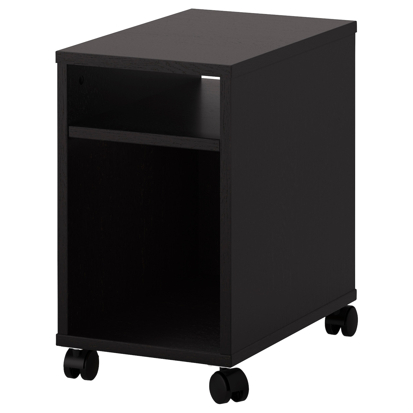 oltedal bedside table black brown 32x50 cm ikea. Black Bedroom Furniture Sets. Home Design Ideas