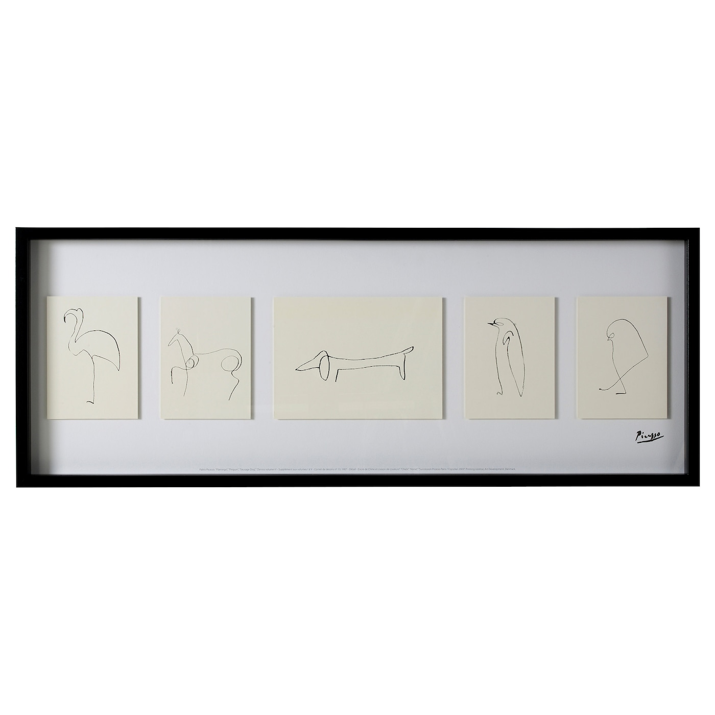 olunda picture sketches 103x39 cm ikea. Black Bedroom Furniture Sets. Home Design Ideas