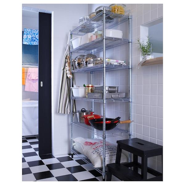 OMAR 1 shelf section, 92x36x181 cm