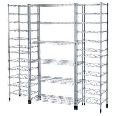 OMAR 3 shelf sections, 187x36x181 cm