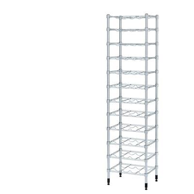 OMAR Bottle shelf, 46x36x181 cm