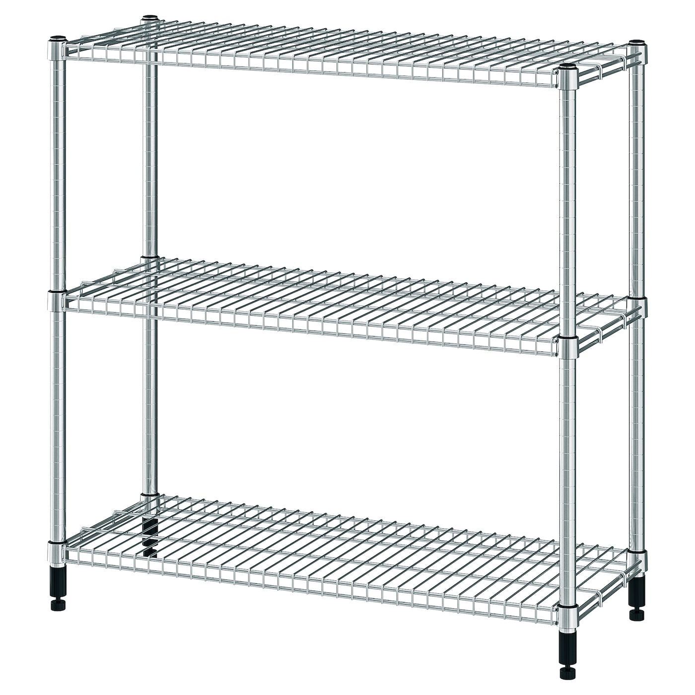 IKEA OMAR shelving unit Easy to assemble – no tools required.