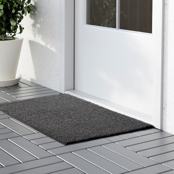 Oplev In Outdoor Grey Door Mat 50x80 Cm Ikea